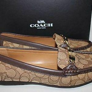 Women's Coach loafers 8.5